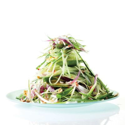 Taste Mag | Cucumber salad with fat-free Asian dressing @ http://taste.co.za/recipes/cucumber-salad-with-fat-free-asian-dressing/