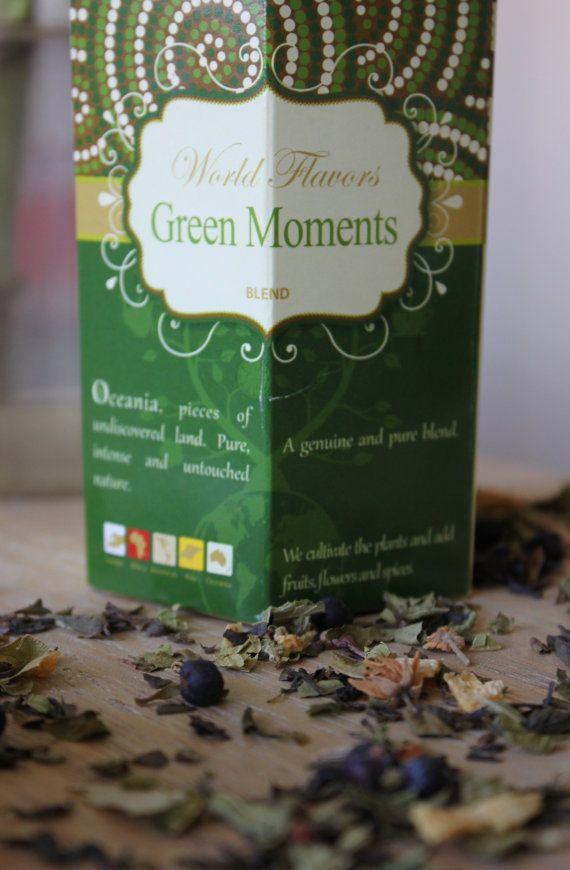Green Moments  Sabores do Mundo by inspiredbylemon on Etsy