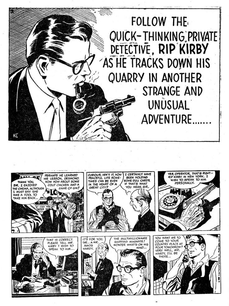strip newspaper rip kirby