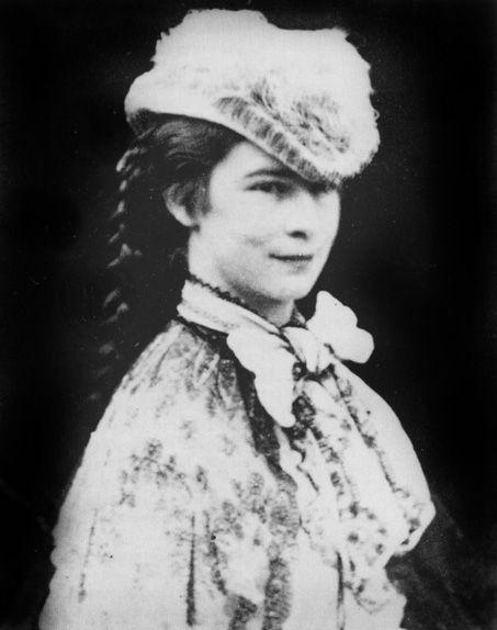 Empress Elisabeth of Austria. A rare smile.. Unlike other ...