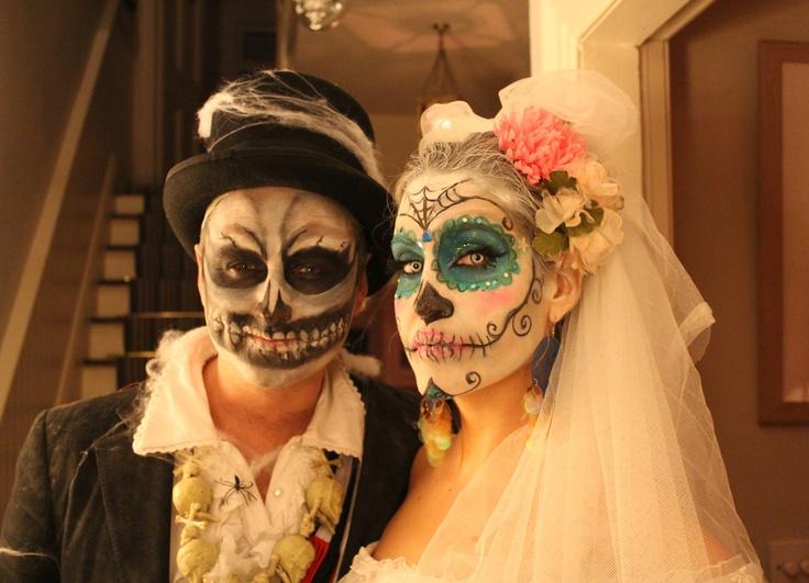 Mark n Mo Halloween 2012 Dia De Los Muertos