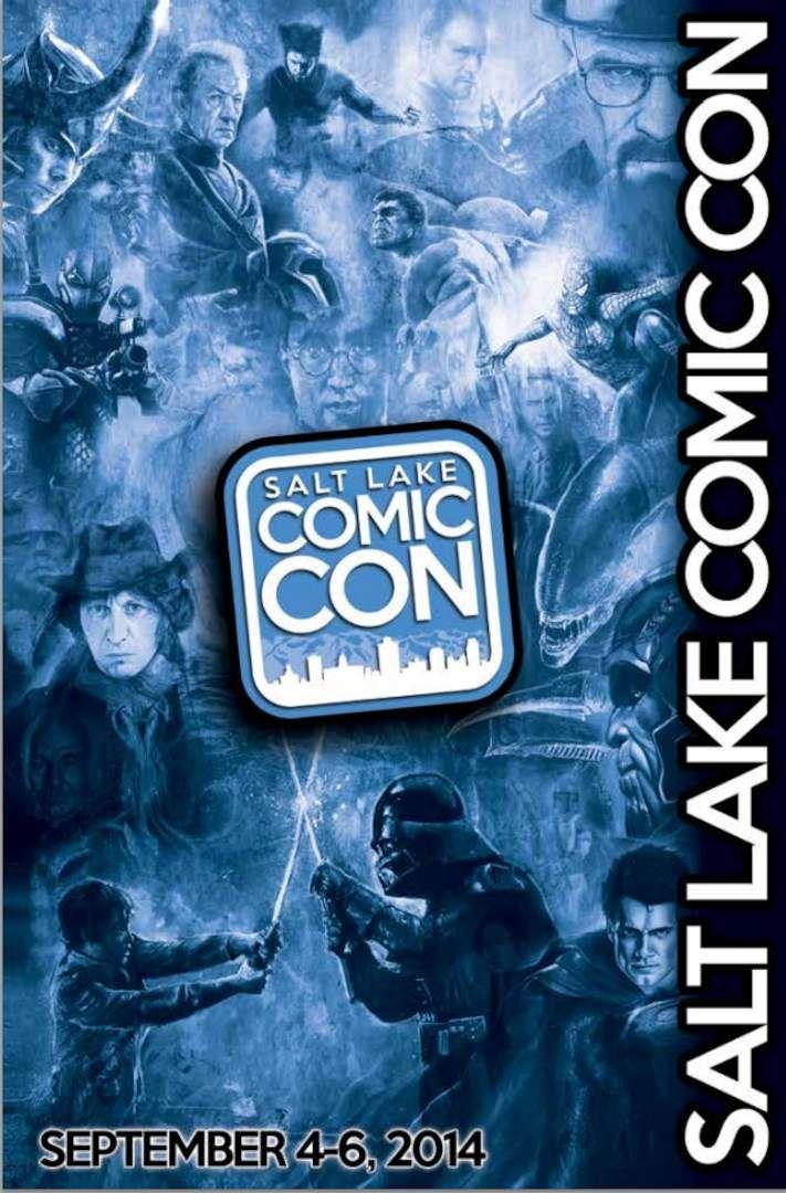 2014 Salt Lake Comic Con Program Guide Cover