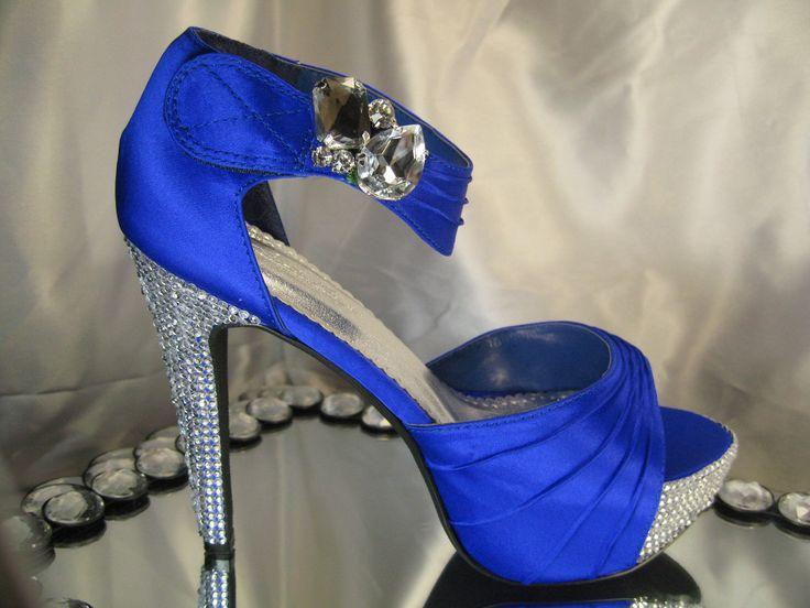 Royal Blue Wedding Heels: Best 25+ Royal Blue Heels Ideas On Pinterest