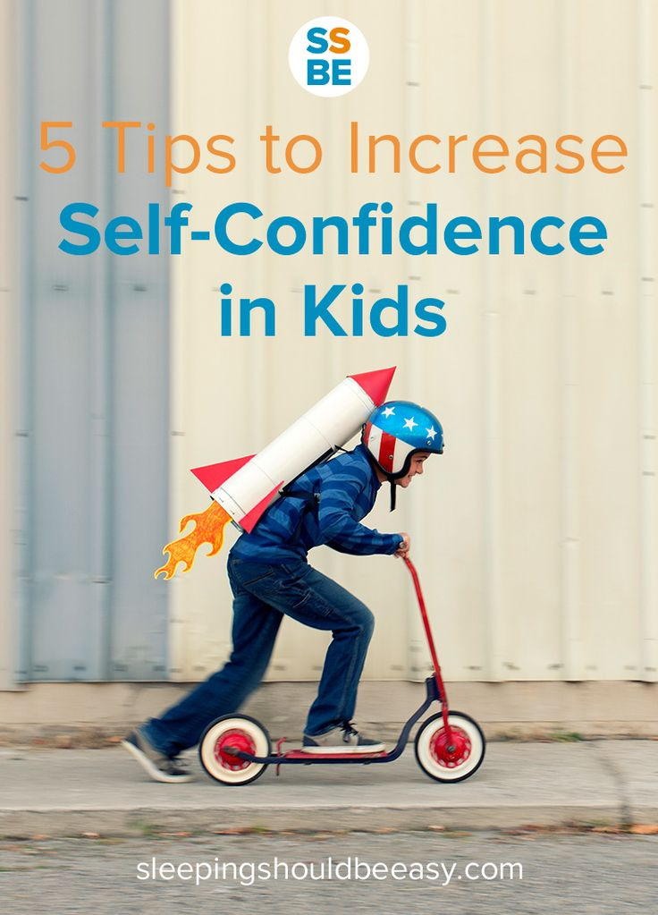 How can you help bolster your child's confidence and self-esteem? Read these 5 tips to increase self confidence and learn how.