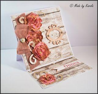 Mamma Karolina: Easel card