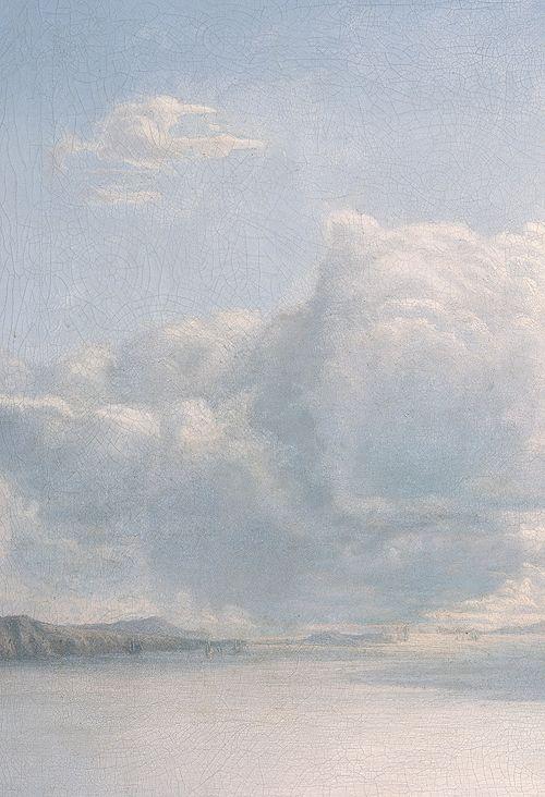 Island Borgøya by Lars Hertervig, 1867 (detail)//