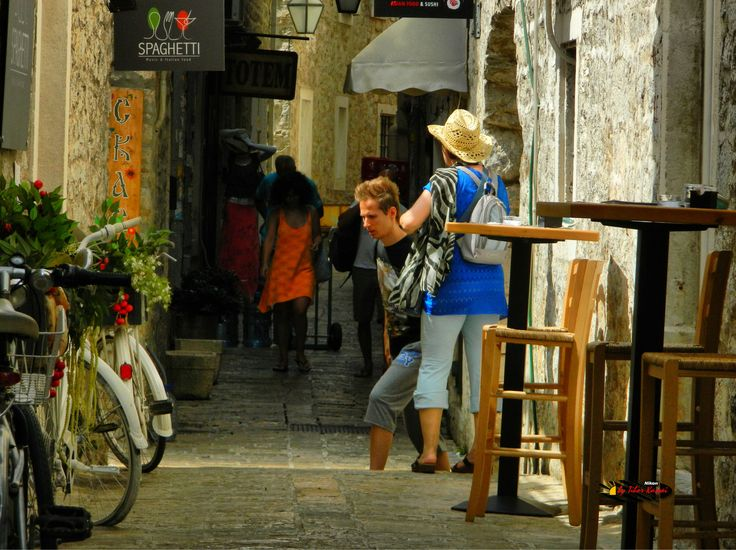 Old town, Budva, Montenegro, Nikon Coolpix L310, 31.8mm, 1/500s,ISO125,f/5.1, -1.0ev, HDR-Art photography, 201607051038