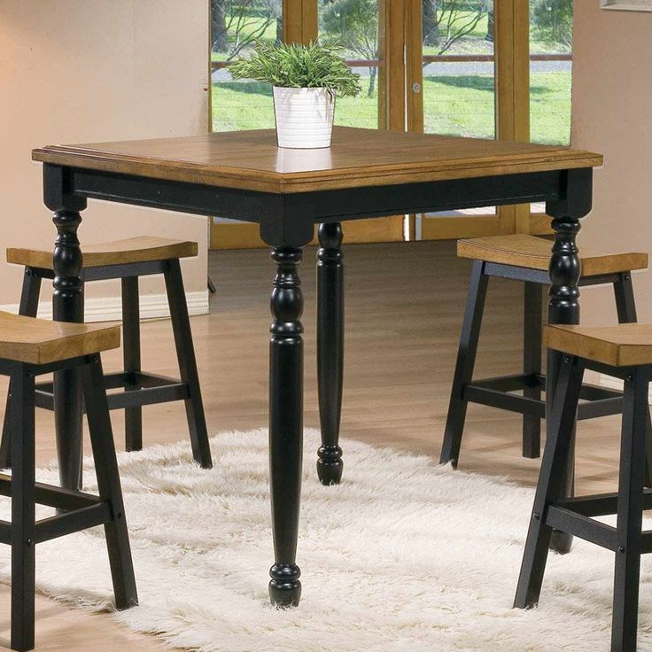 Winners Only Quails Run Counter Height Square Tall Dining Table   from  hayneedle comThe 25  best Tall dining table ideas on Pinterest   Tall kitchen  . Kincaid Stonewater Tall Dining Table. Home Design Ideas