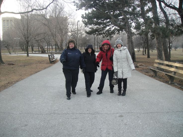 Rita, Mary, Jo Anne Z, Joanne C at Promontary Park