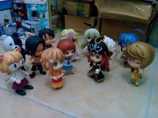 My collections... Nendroid