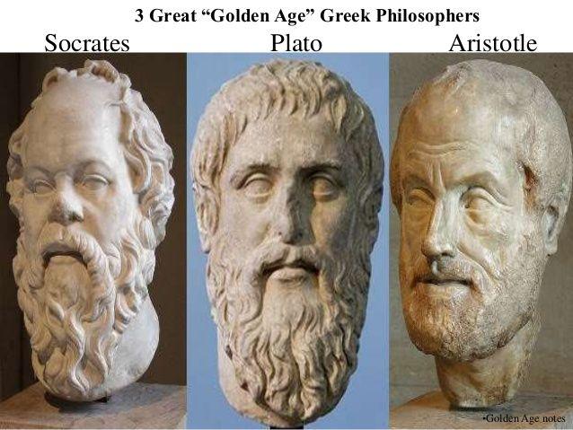 Socrates Plato And Aristotle Were Very Important