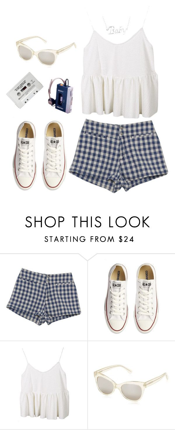 """""""everything i do, i do for you"""" by dahmergirl ❤ liked on Polyvore featuring GUESS, Converse, KamaliKulture, Summer and cute"""