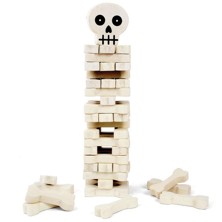 Turmspiel 'Stack the Bones' - Kikkerland #game #skull