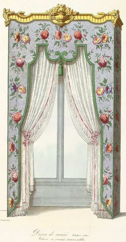 17 best images about interior details curtains for 18th century window treatments