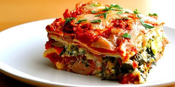 Skinny Vegetable Lasagne