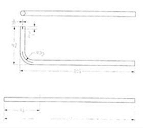 RV Trailer CUMMINS NW Use With Cummins Onan Generators Generator Exhaust Pipe 25