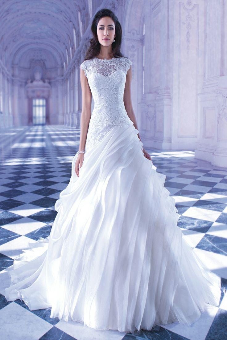Tendance Robe De Mariée 2017/ 2018 : Sensualle by Demetrios gown #wedding #dress #weddingdream123...