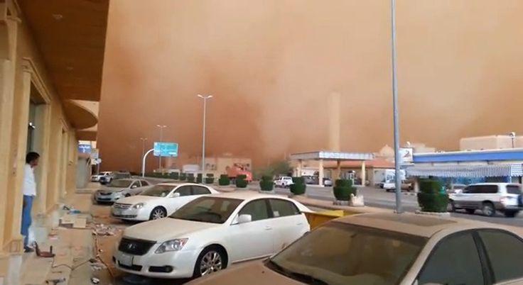 Meteocity - Les tempêtes de sable, un phénomène météo étonnant