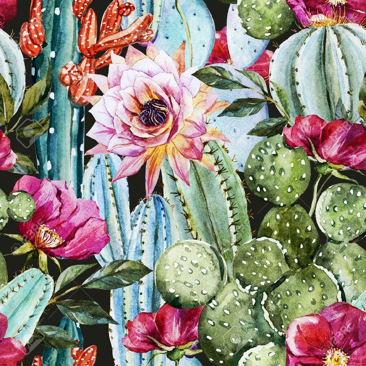 Desert Cactus Stock Vector Illustration And Royalty Free Desert ...