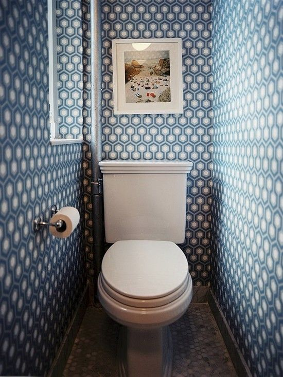 Bathroom Wallpaper 20 best tiny half bathrooms images on pinterest | half bathrooms