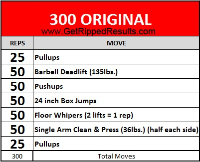 Workout: What Is The 300 Workout