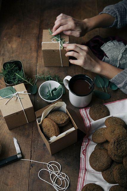 by julie marie craig, gingersnap cookies