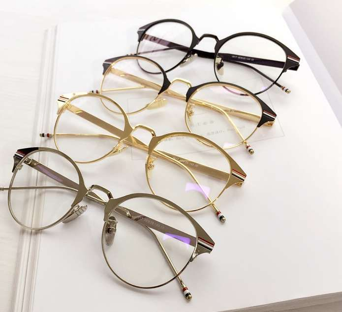 ラウンド格安欧米風クラシック古典メガネ店格安イギリス風メタル金属メガネ通販おすすめ伊達眼鏡メガネ オンラインフレーム韓国おしゃれメガネハーフリム度なしレンズめがねナイロール