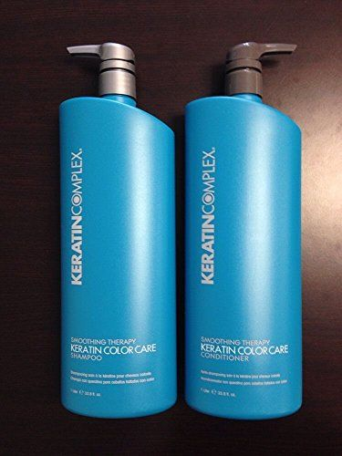 Keratin Complex Color Care Shampoo & Conditioner 33.8 oz ea  For color-treated hair Keratin Complex Color Care Shampoo 33.8 oz Keratin Complex Color Care Shampoo 33.8 oz Keratin Complex Color Care Conditioner 33.8 oz Keratin Complex Color Care Shampoo 33.8 oz Keratin Complex Color Care Shampoo 33.8 oz Keratin Complex Color Care Conditioner 33.8 oz Packaging May Vary  http://www.personalcareclub.com/keratin-complex-color-care-shampoo-conditioner-33-8-oz-ea/