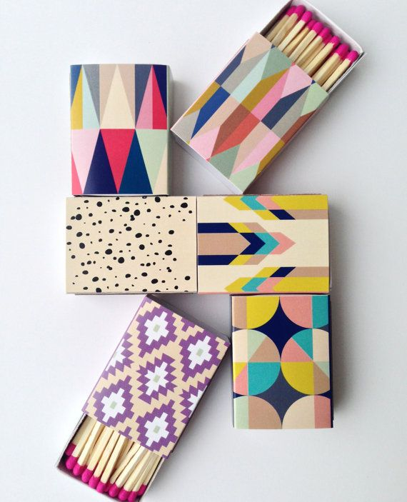 Lulu & Georgia: Idea, Packaging, Color, Match Boxes, Decorative Matchboxes, Decorative Matches, Design