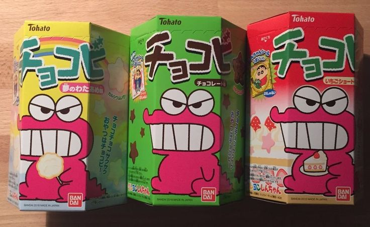 Crayon Shin-Chan #chocobi #Japanese #sweets http://ebay.to/1TWci7N