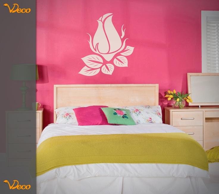 Rosa dise o para teens para pared o muebles diferentes - Vinilos decorativos para muebles ...