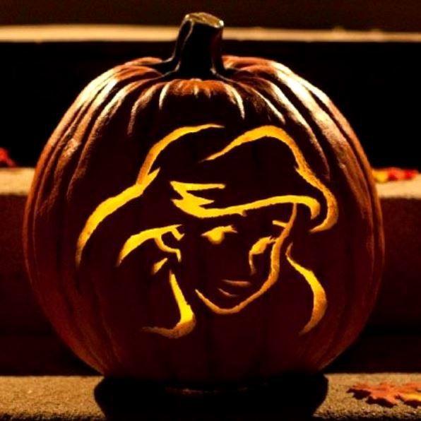 Little Mermaid Pumpkin Carving Ideas