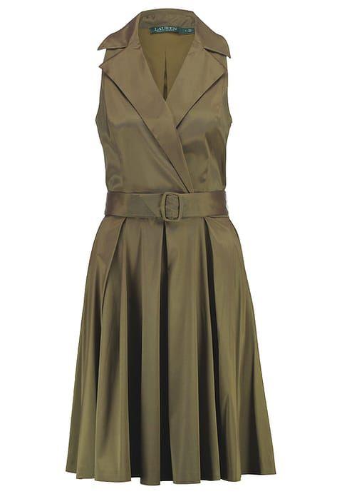 Robes de soirée Lauren Ralph Lauren Robe de soirée - olive kaki: SFr. 225.00 chez Zalando (au 25.06.17). Livraison et retours gratuits et service client gratuit au 0800 890 223.
