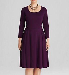 Melissa Masse Plus Size Dress A-Line Dress - BEAUTIFUL Shape!