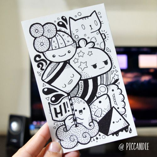 Doodle by Pic Candle