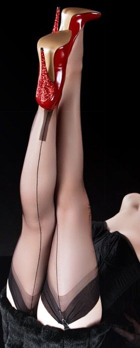 Blood red spikes... Spiritual ~ Sensual ~ Sublime http://playgroundofthesenses.com