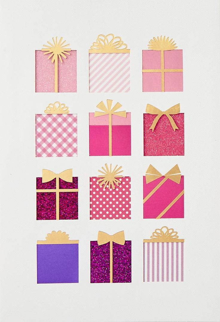 319 Best Birthday Cards Presents Images On Pinterest Creative