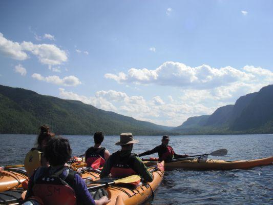 Kayak, fondue, camping et randonnée dans le Parc National du Fjord du Saguenay