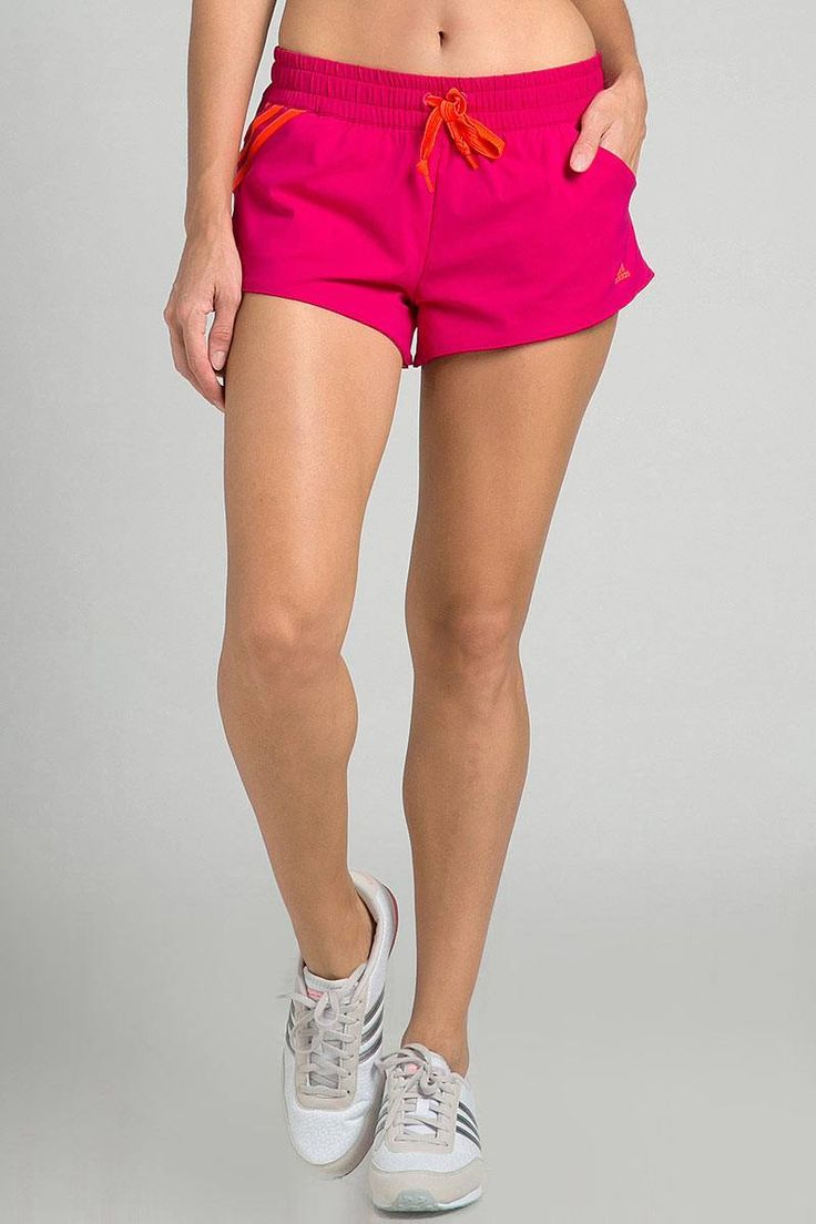 Adidas SF Woven Womens Training Shorts - Pink IDR 229.000
