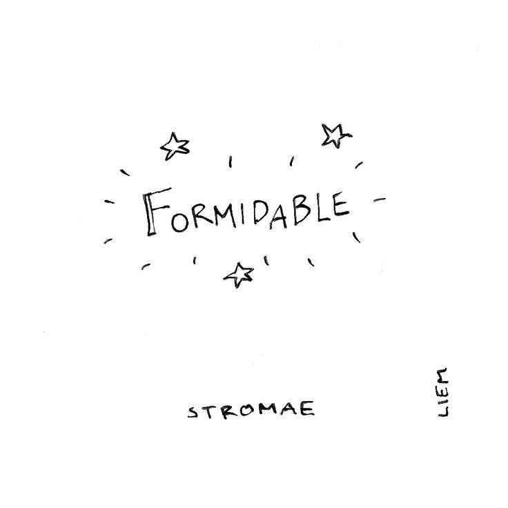Stromae. Formidable. 365 illustrated lyrics project, Brigitte Liem.