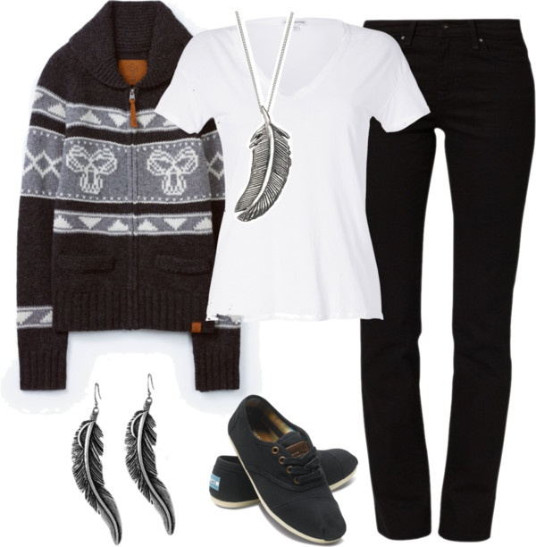 """""""TNA Sweater"""" by lesnesman on Polyvore"""