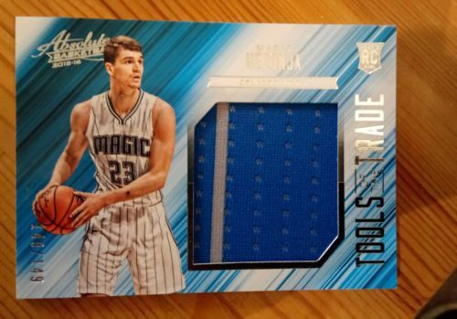 Mario hezonja 2015-16 #panini absolute #tools of the #trade rookie jersey relic ,  View more on the LINK: http://www.zeppy.io/product/gb/2/112290828290/