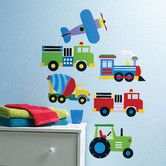 Found it at Wayfair - Olive Kids Trains, Planes and Trucks Wall Art