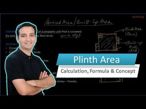 Plinth Area - Calculation, Formula & Concept    Do you know what is plinth area and how it is different from carpet area, built up area and super built up area?   Learn how to calculate the Plinth area the right way with this video.   #RealEstate #PlinthArea #AssetYogi