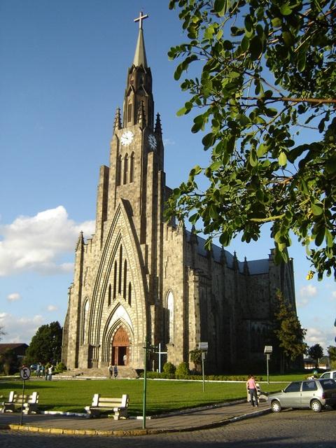 Catedral de Canela. RS - Brasil