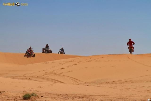 Super Buggie Raid y Quad. Nuestro destino, las naranjas dunas de Erg Chebbi