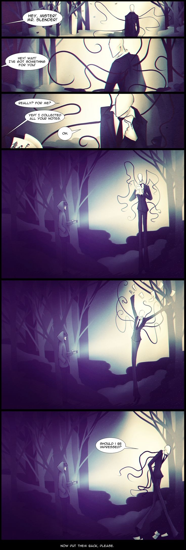 Slender : The Game. Ending? by Paradoxoid