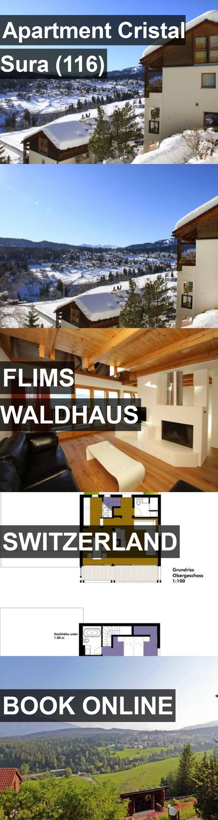 Apartment Cristal Sura (116) in Flims Waldhaus, Switzerland. For more information, photos, reviews and best prices please follow the link. #Switzerland #FlimsWaldhaus #travel #vacation #apartment