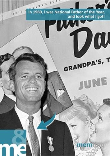 Poster 00016INT - Kennedy and Fathers Day