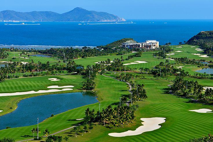 Sanya Luhuitou Golf Club  #Sanya #China #Whererefreshingbegins #Beautiful #Sports #Travel #Hainan #Destination